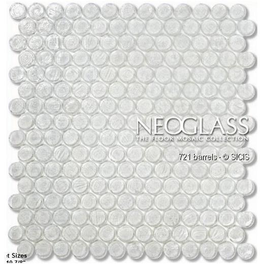 Sicis NeoGlass Barrels Series Flax BARR-FLAX