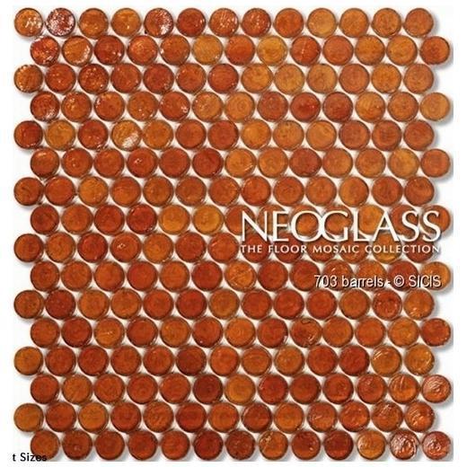 Sicis NeoGlass Barrels Series Jute BARR-JUTE