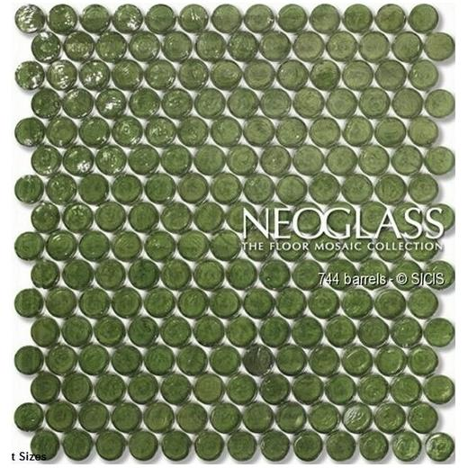 Sicis NeoGlass Barrels Series Tweed BARR-TWEE