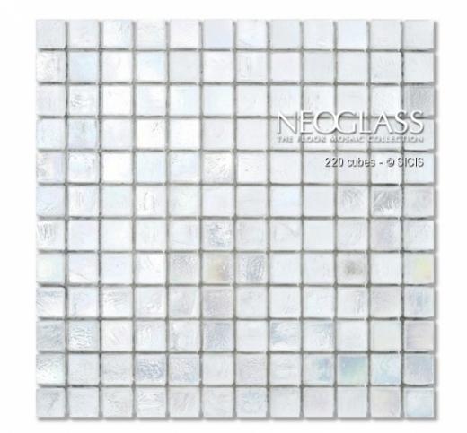 Sicis NeoGlass Cubes Series Cotton CUBE-COTT