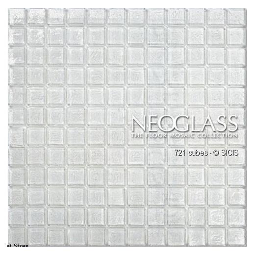 Sicis NeoGlass Cubes Series Flax CUBE-FLAX