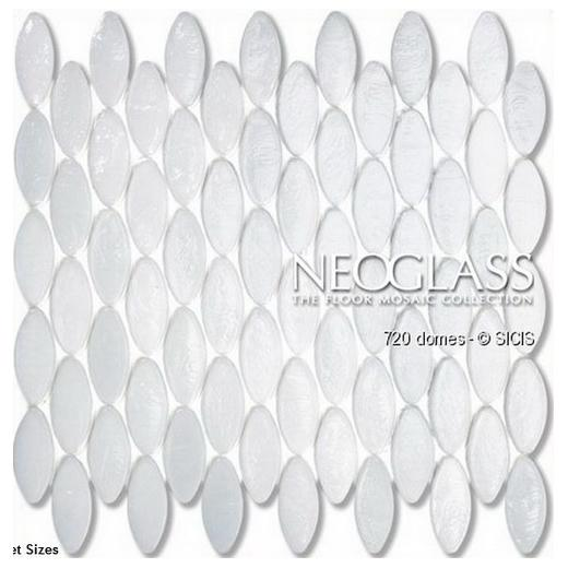 Sicis NeoGlass Domes Series Cotton DOME-COTT