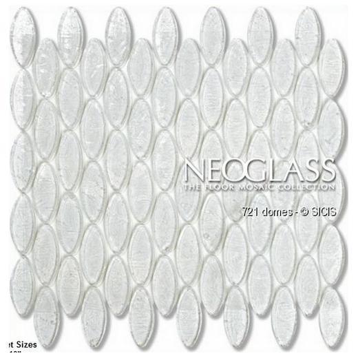Sicis NeoGlass Domes Series Flax DOME-FLAX