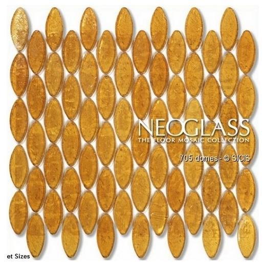 Sicis NeoGlass Domes Series Hemp DOME-HEMP