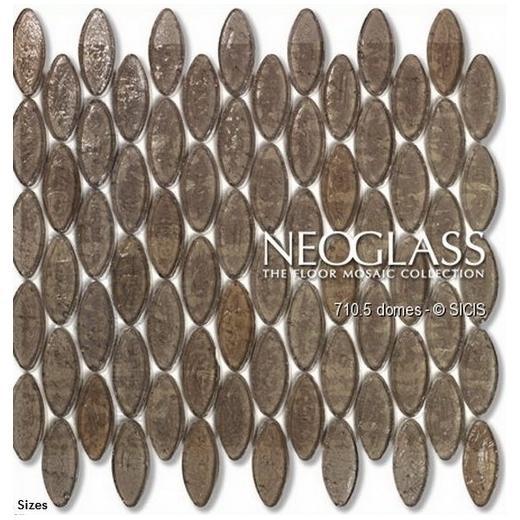 Sicis NeoGlass Domes Series Satin DOME-SATI
