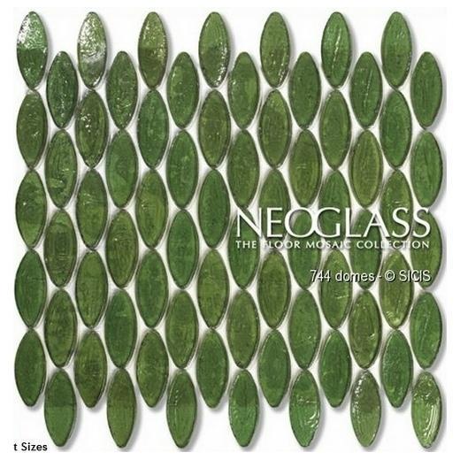 Sicis NeoGlass Domes Series Tweed DOME-TWEE