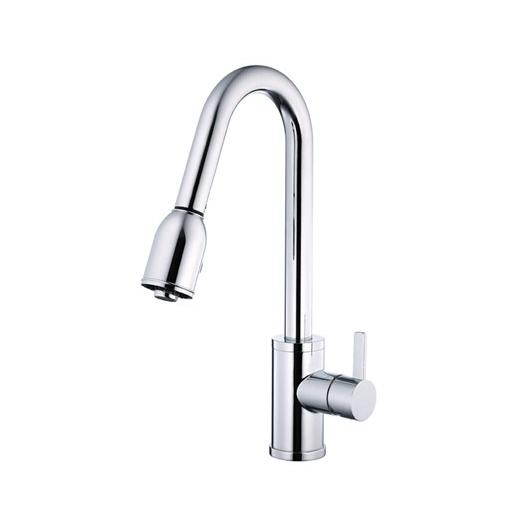 Amalfi Series Single Handle Pull-Down Kitchen Faucet D454530