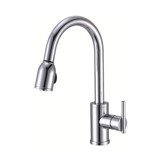 Parma Series Single Handle Pull-Down Kitchen Faucet D457058