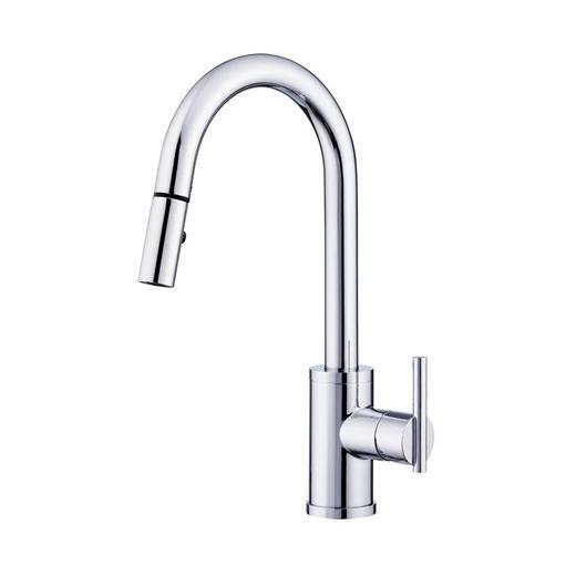 Parma Series Single Handle Pull-Down Kitchen Faucet D454558