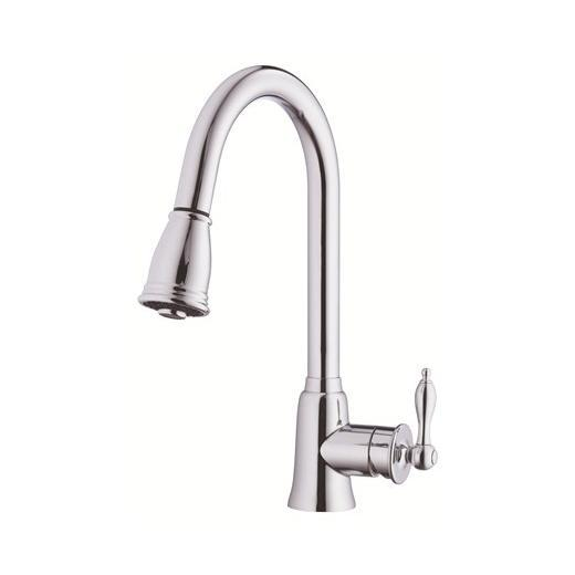 Prince Series Single Handle Kitchen Pull-Down Faucet D454510