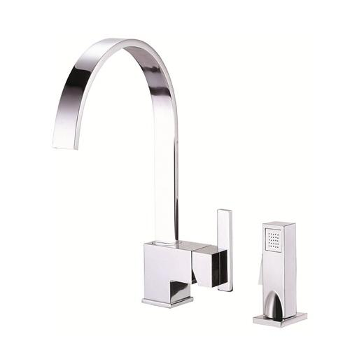 Sirius Series Single Handle Kitchen Faucet with Spray D401544