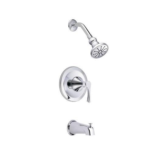 Antioch Series Trim Only Single Handle Tub & Shower Faucet D500022T