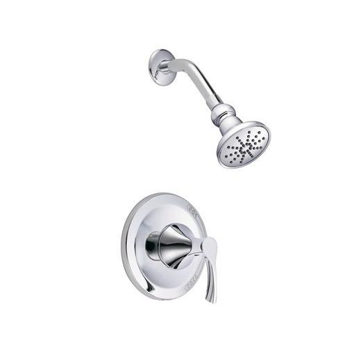 Antioch Series Trim Only Single Handle Pressure Balance Shower Faucet D513522T