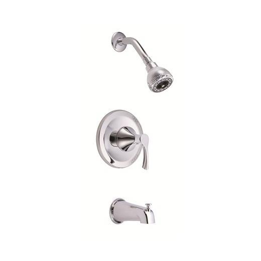 Antioch Series Trim Only Single Handle Pressure Balance Tub & Shower Faucet D513022T