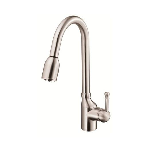 Melrose Series Single Handle Pull-Down Kitchen Faucet D457015