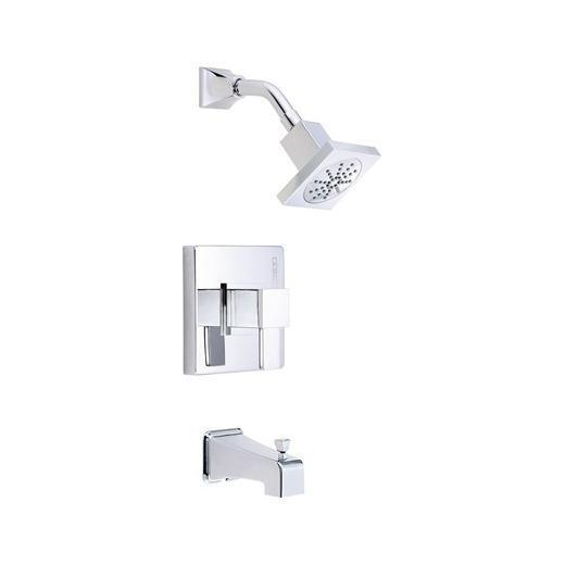 Reef Series Trim Only Single Handle Pressure Balance Tub & Shower Faucet D503033T