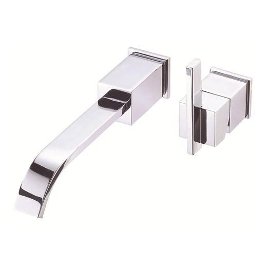Sirius Series Single Handle Wall Mount Lavatory Faucet D216044T