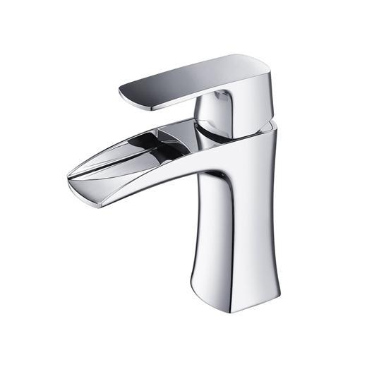 Fortore Series Single Hole Mount Bathroom Vanity Faucet FFT3071CH