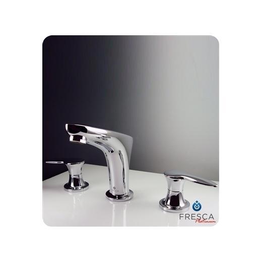 Parina Series Widespread Mount Bathroom Vanity Faucet FFT3206CH