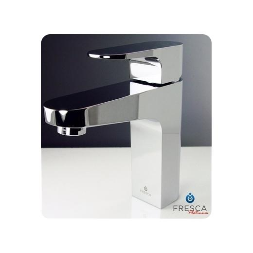 Velino Series Single Hole Mount Bathroom Vanity Faucet FFT3001CH