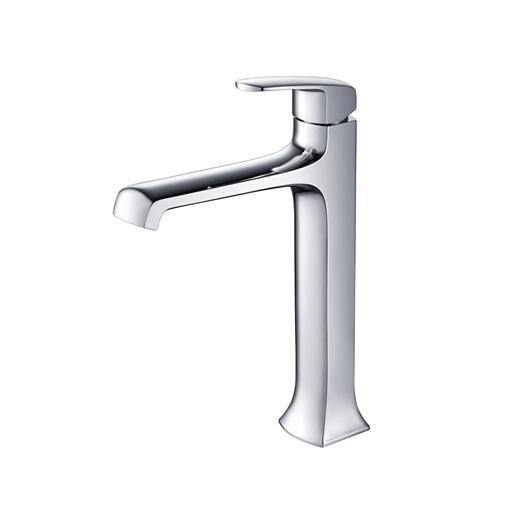Verdura Series Single Hole Vessel Mount Bathroom Vanity Faucet FFT3502CH