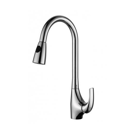 Kraus KPF-1621 Single Lever Pull Out Kitchen Faucet Chrome