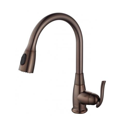 Kraus Single Lever Pull Out Kitchen Faucet Oil Rubbed Bronze KPF-2230ORB