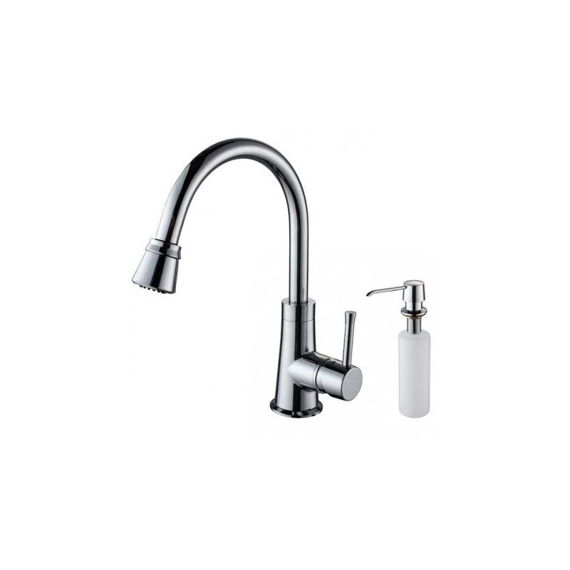 Kraus KPF-2220-KSD-30 Single Lever Pull Out Kitchen Faucet