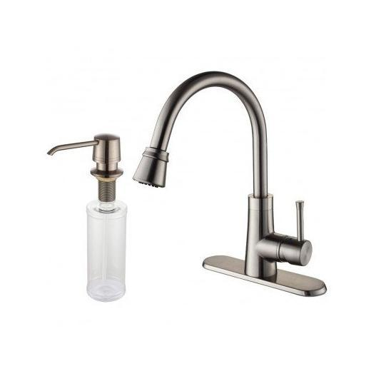 Kraus Kpf 2220 30sn Single Lever Pull Out Kitchen Faucet