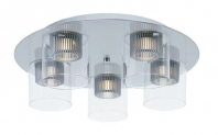 Cyborg 5-Light Ceiling Mount E23062-18PC