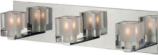 Blocs 3-Light Bath Vanity-E22033-18