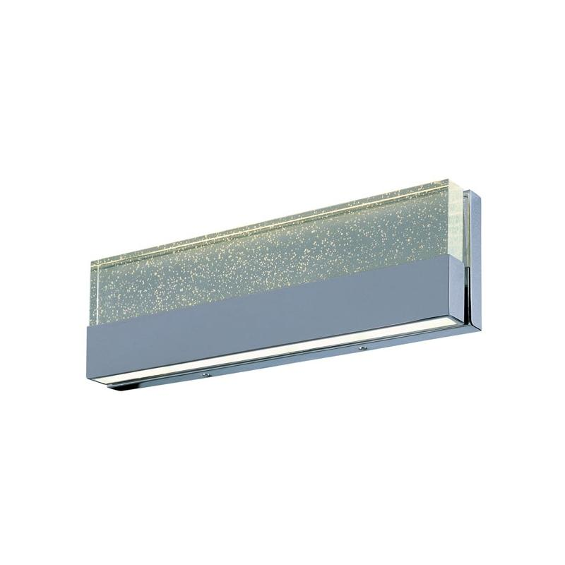 Led Tube Vanity Lights : Buy ET2 Fizz III 18 2-Light LED Vanity-E22756-89PC HomeDecorAZ.com