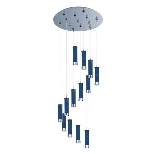 Chroma 13-Light LED RapidJack Pendant and Canopy-E93850-132PC