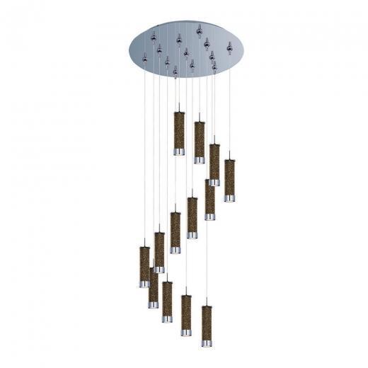 Chroma 13-Light LED RapidJack Pendant and Canopy-E93850-136PC