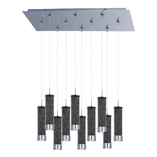 Chroma 10-Light LED RapidJack Pendant and Canopy-E93950-138PC