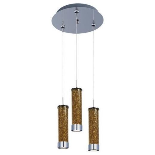 ET2 E94650-05PC Chroma 3-Light LED RapidJack Pendant and Canopy