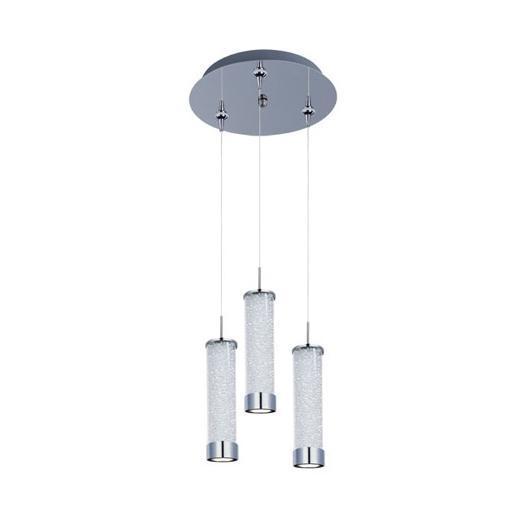 ET2 E94650-130PC Chroma 3-Light LED RapidJack Pendant and Canopy