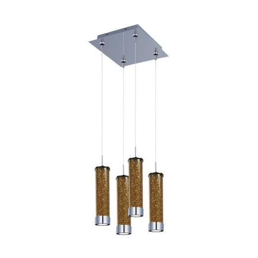 ET2 E94750-05PC Chroma 4-Light LED RapidJack Pendant and Canopy
