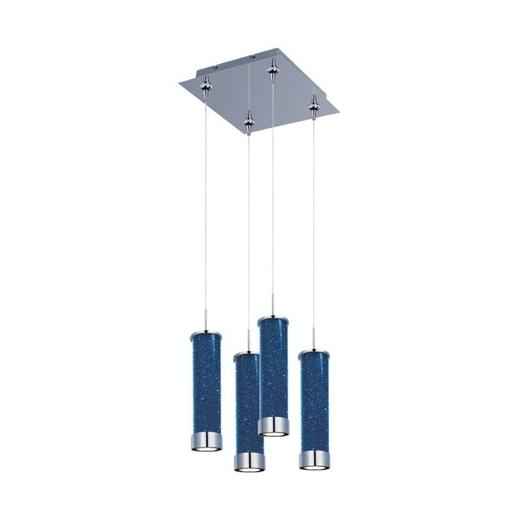 ET2 E94750-132PC Chroma 4-Light LED RapidJack Pendant and Canopy