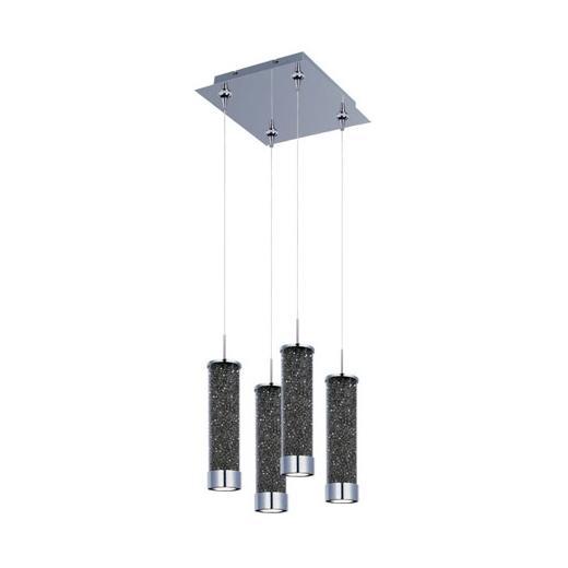 ET2 E94750-138PC Chroma 4-Light LED RapidJack Pendant and Canopy