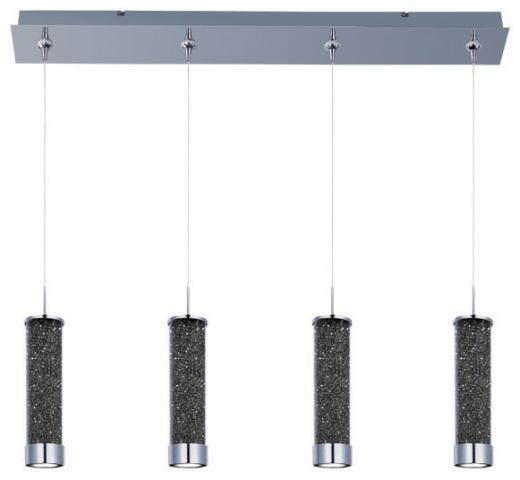 ET2 E94950-138PC Chroma 4-Light LED RapidJack Pendant and Canopy