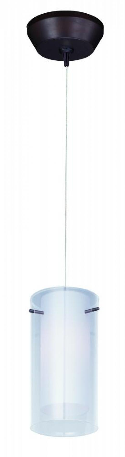 Frost 1-Light RapidJack Pendant and Canopy-E94344-10BZ