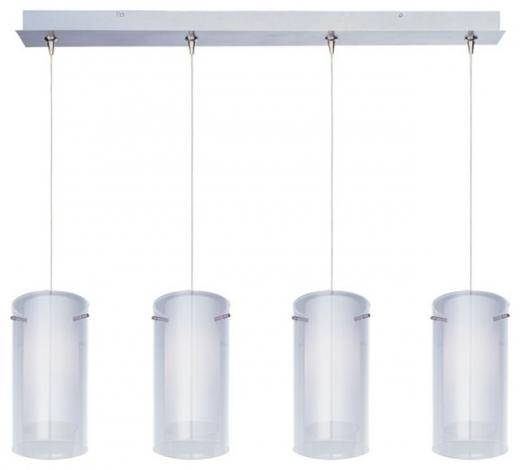 Frost 4-Light RapidJack Pendant and Canopy-E94944-10SN