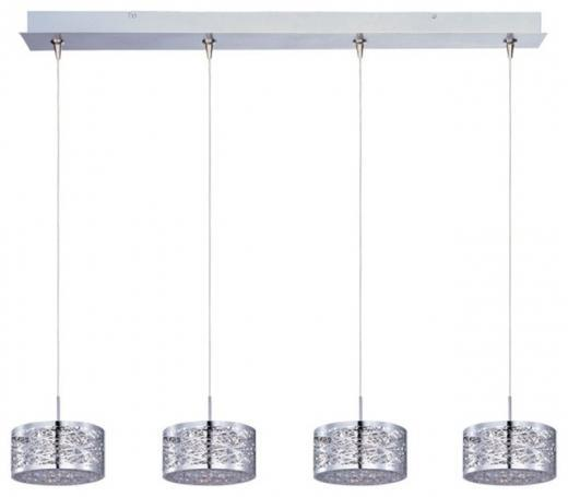 Inca 4-Light RapidJack Pendant and Canopy-E94945-10PC