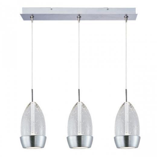 Luxe 3-Light LED RapidJack Pendant and Canopy-E94852-91SN