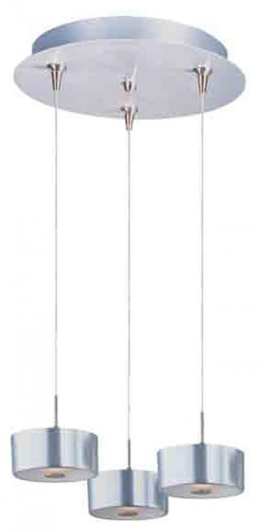 Percussion 3-Light RapidJack Pendant and Canopy-E94608-09SN