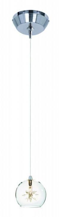 Starburst 1-Light RapidJack Pendant and Canopy-E94372-24SN