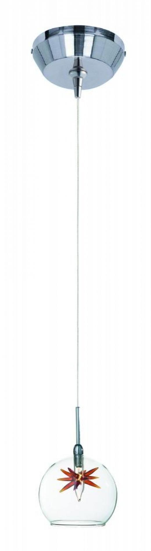 Starburst 1-Light RapidJack Pendant and Canopy-E94472-25
