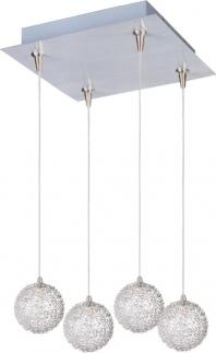 Starburst 4-Light RapidJack Pendant and Canopy-E94772-78