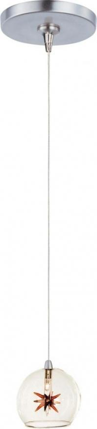 Starburst 1-Light RapidJack Pendant and Canopy-E94372-25SN